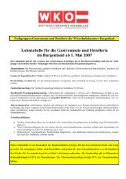 Burgenlands Wirtschaft - linea7.com