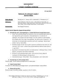 Seniorrådet 11.02.2013 - Referat - Lyngby Taarbæk Kommune