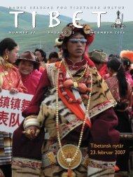 Tibet 67, 2006 - Dansk Selskab for Tibetansk Kultur