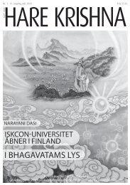 Srila Prabhupadas side - ISKCON Danmark