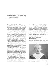 Rektor Knud Moseholm - Kolding Kommune