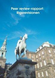 Peer review-rapport: Rigsrevisionen - Riksrevisjonen