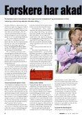 Forskere har akademikerforældre - FORSKERforum - Page 6