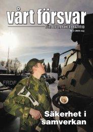 Nr 2/ 2005 Årgång 117 - Allmänna Försvarsföreningen