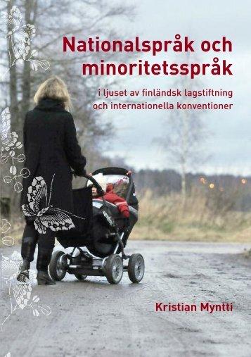 Nationalspråk och minoritetsspråk - Svenska kulturfonden