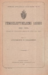 Fængselsstyrelsens aarbog, 1902 - 1903 - SSB