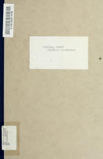Politiska handböcker
