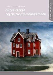 Skoleverket og de tre stammers møte - Munin - Universitetet i Tromsø