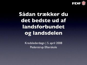 Sådan trækker du det bedste ud af landsforbundet og ... - PEwiki.dk