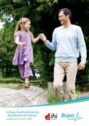 ihi Bupa Sundhedsforsikring - Skandinavien & Tyskland
