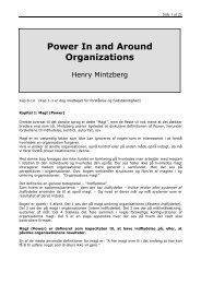 Power in and around organizations - Black Diamond Consulting