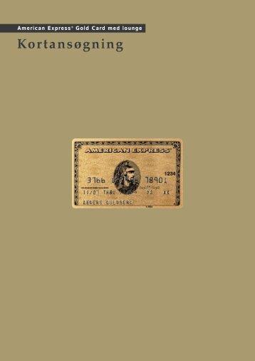 Kortansøgning - American Express