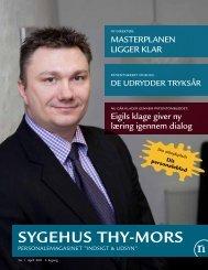 SygehuS Thy-MorS - Region Nordjylland