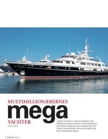 MegaYatchter - verdens største lystbåde