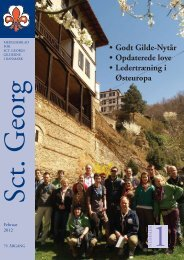 Program 2012 - Sct. Georgs Gilderne