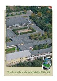 Folder om skolebestyrelsen - Marienhoffskolen