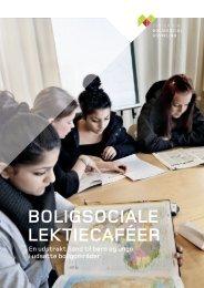 BOLIGSOCIALE LEKTIECAFÉER - Center for boligsocial udvikling
