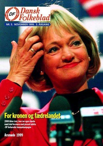 For kronen og fædrelandet - Dansk Folkeparti