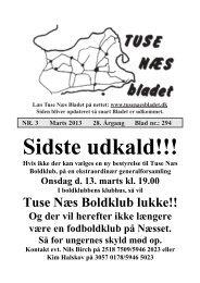 Marts 2013 - Tuse Næs Bladet