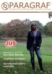 Månedens portræt Eva Aaen Skovbo Karakterhelvedets ... - Paragraf