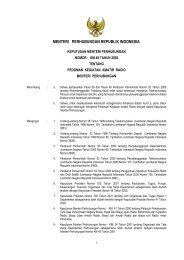 MENTERI PERHUBUNGAN REPUBLIK INDONESIA - Kambing UI