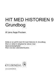 Grundbog HIT MED HISTORIEN 9 - Syntetisk tale
