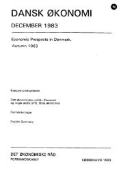 Dansk økonomi, december 1983 - De Økonomiske Råd