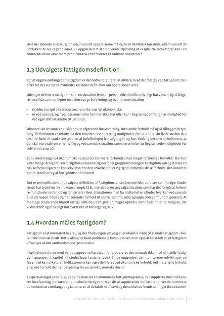 Læs udvalgets rapport - Social