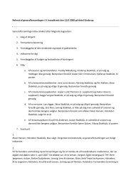 Referat Generalforsamling 2008 - 9.Hovedkreds