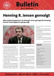 Henning R. Jensen genvalgt - DBU
