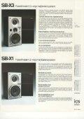 SB-X1, SB-X3 and SB-X5 - Page 4