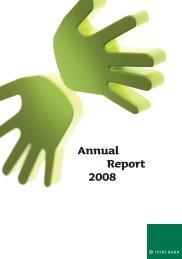 Annual Report 2008 [PDF] - Jyske Bank