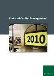 Risk and Capital Management 2010 [PDF] - Jyske Bank