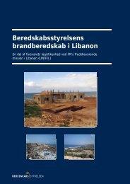 Beredskabsstyrelsens brandberedskab i Libanon
