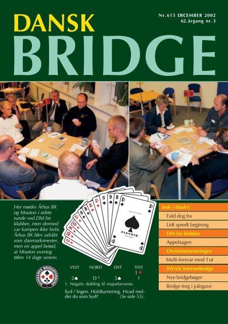 Inde i bladet: DM for klubber SWAN internetbridge Fald dog fra Lidt ...