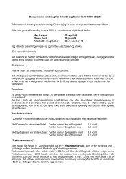 Bestyrelsens beretning 2010 - Velkommen til Kalundborg Seniorgolf