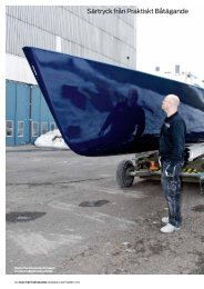 Måla båten - De-Ijssel-Coatings - NORDEN