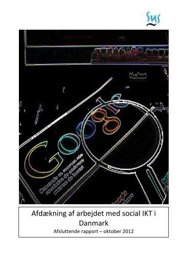 Afdækning af social IKT 2013 - Socialt Udviklingscenter SUS