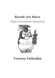 Rundt om Marx Tommy FalkeØje
