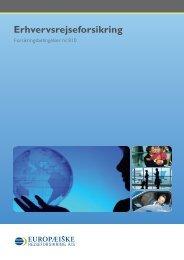 Erhvervsrejseforsikring - trygging.fo