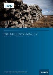 Gruppeforsikringer 2013 - JØP