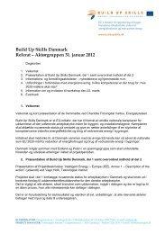 Referat for Aktørgruppemøde den 31. januar 2012 - Energistyrelsen