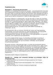 Resultat 4.a – Katalog over innovative løsninger og ... - Gate 21