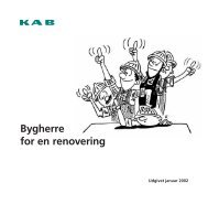 Bygherre for en renovering - KAB