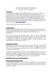 Tredje precisionsavvägningen (pdf) - Lantmäteriet