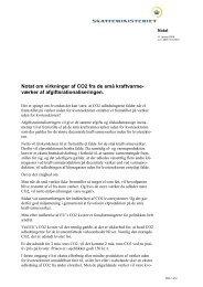 Notat om virkninger af CO2 fra de små kraftvarme- værker af ...