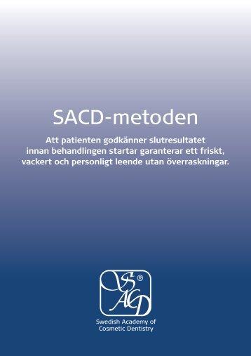 Läs mer om SACD-metoden - Tandläkare Bengt Glimstedt