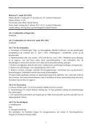 1 Referat af 7. møde 2011-2012 Mødet afholdt: Torsdag den 15 ...