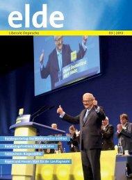 Aktuelle Ausgabe 3/2013 - Elde Online
