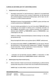 Almindelige bestemmelser - Fjerritslev Fjernvarme